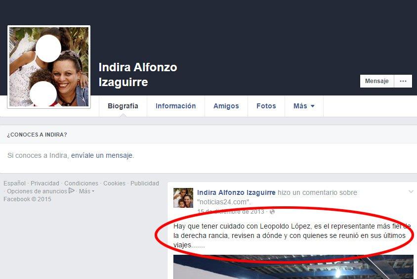 RECONÓCELA: Indira Alfonzo Izaguirre, la juez que decidió que el 20 % no es nacional y empastela el revocatorio