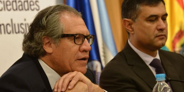 """Luis Almagro dice que la OEA no puede ser """"neutral"""""""