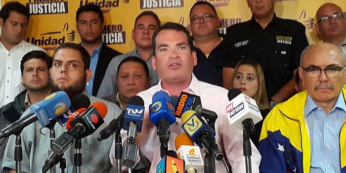 Primero Justicia respalda a Voluntad Popular tras amenazas del gobierno