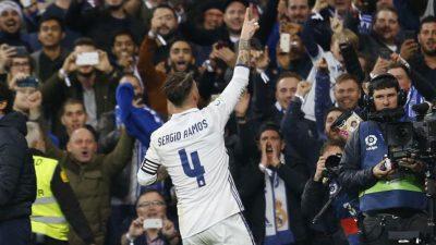 """""""Hemos cometido errores que nos han penalizado pero al final le hemos dado la vuelta"""": Sergio Ramos"""