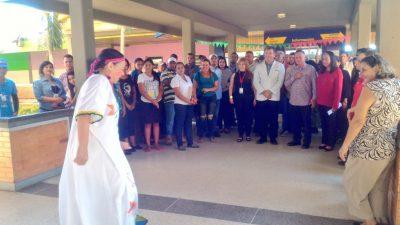 Arias entrega rehabilitación del cuarto piso de hospitalización del Especialidades Pediátricas