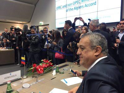 Del Pino: Con nuevo acuerdo precio del crudo venezolano podría rondar los 50 y 60 dólares