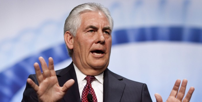 Director general de Exxon Mobile es el nuevo secretario de Estado de EEUU