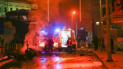 Doble atentado en Estambul dejó 15 muertos y 69 heridos (Fotos)