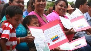 Ejecutivo se propone entregar en 2017 un millón de tarjetas de misiones socialistas