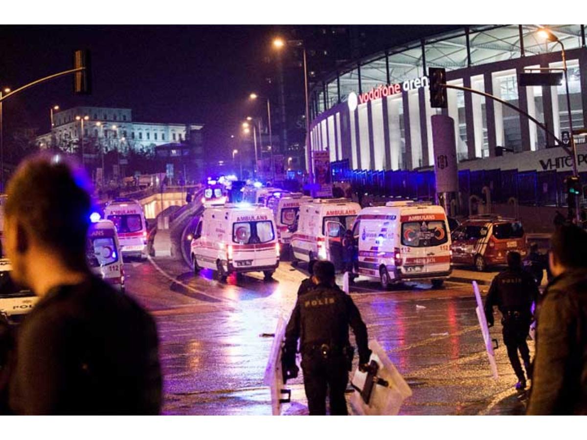 Explosiones cerca estadio de fútbol turco dejan 20 heridos