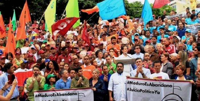 PRESIÓN| 16 partidos exigen a la AN retomar juicio político contra Maduro